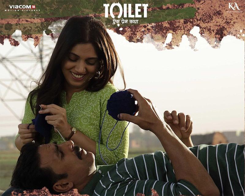 akshay kumar and bhumi pednekar movie toilet ek prem katha