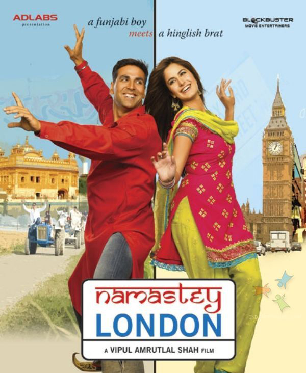 akshay kumar and katrina kaif in namastey london