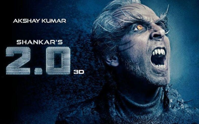 2.0 में अक्षय कुमार ने जितना मेकअप किया उतना पूरी लाइफ में नहीं किया