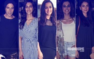 STUNNER OR BUMMER: Akshay Kumar, Kriti Sanon, Taapsee Pannu, Shraddha Kapoor Or Aditi Rao Hydari?