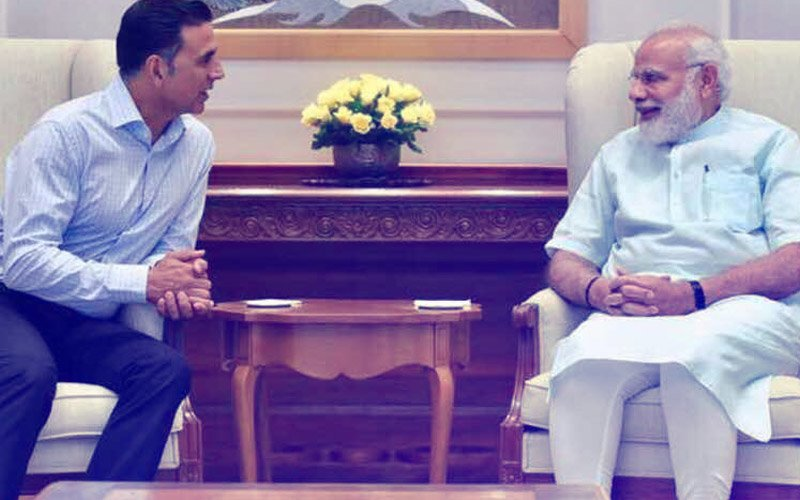 IN PICS: Akshay Kumar Meets PM Narendra Modi In Delhi