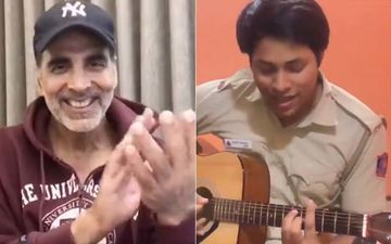 Akshay Kumar Is In Complete Awe Of A Delhi Cop Who Sang His Song 'Teri Mitti' With Sheer Gusto– VIDEO
