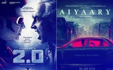 Akshay Kumar-Rajinikanth's 2.0 Will Now Clash With Neeraj Pandey's Aiyaary Starring Sidharth Malhotra