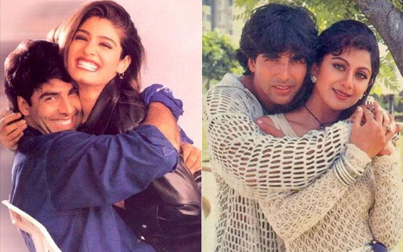 Akshay Kumar's Exes Shilpa Shetty Kundra, Raveena Tandon Meet And Here's  What Happened Next