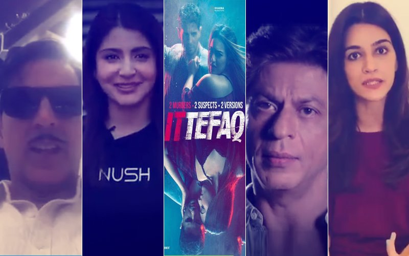 DARE NOT REVEAL Ittefaq Suspense; Else Anushka Sharma, Shah Rukh Khan, Akshay Kumar & Kriti Sanon Will Be UPSET With You!