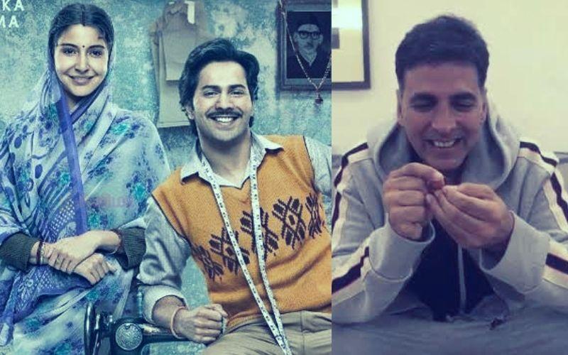 #SuiDhaagaChallenge वरुण धवन के इस चैलेंज में अक्षय कुमार की हालत हुई पतली, शेयर किया वीडियो