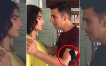 Akshay Kumar Injures His Arm On the Sets of Sooryavanshi; Injury Gets Spotted In The Latest Video Staring Katrina Kaif