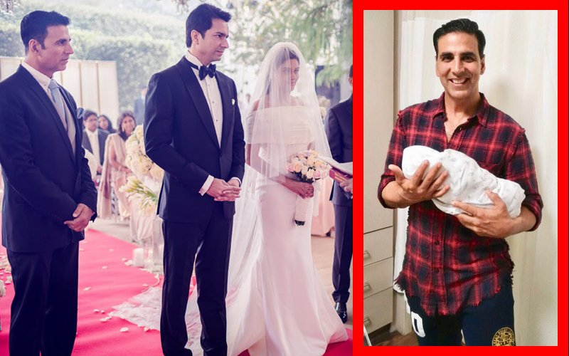Akshay Kumar Shares First Pic Of Asin's Baby Girl