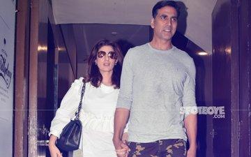 Akshay Kumar Enjoys Movie Date With Twinkle Khanna & Aarav