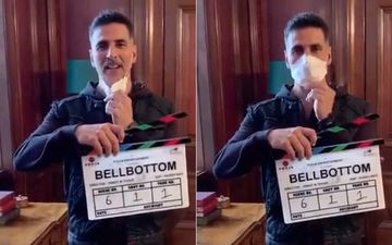 Bell Bottom: Akshay Kumar Resumes Shoot Following New Norms, Says 'Difficult Time, But Work Has To Go On'- WATCH