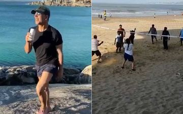 Akshay Kumar Has A 'Ball' While Playing Volleyball At A Mumbai Beach – WATCH VIDEO