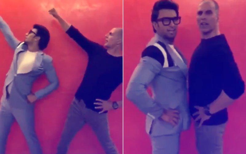 PARTNERS IN CRIME: Akshay Kumar & Ranveer Singh Shake It To The Pad Man Song