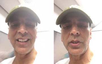 Akshay Kumar Takes The Mumbai Metro After Wrapping Up A Shoot; Goes Unrecognised In The Crowd