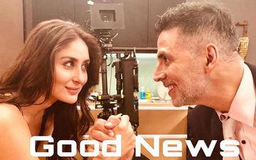 Good News! ट्विस्ट के साथ अक्षय कुमार और करीना कपूर ने किया #10yearChallenge