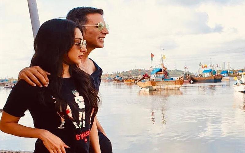 Laxmmi Bomb: Akshay Kumar And Kiara Advani Ooze Swag In Black As They Kickstart Their Second Schedule