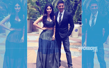 All That Glitters: Akshay Kumar & Mouni Roy Promote Gold