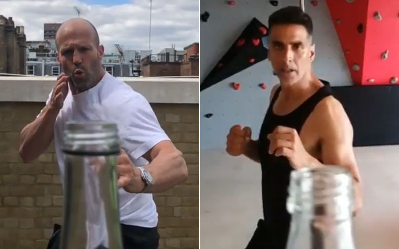 Bottle Cap Challenge: Akshay Kumar Seeks Inspo From Action Idol Jason Statham, Nails New Internet Challenge – Watch Video
