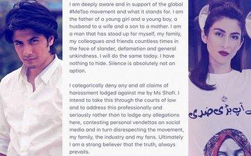 यौन उत्पीड़न मामले में अब अली ज़फर ने तोड़ी अपनी चुप्पी, कहा मिशा शफी को लेकर जाएंगे कोर्ट