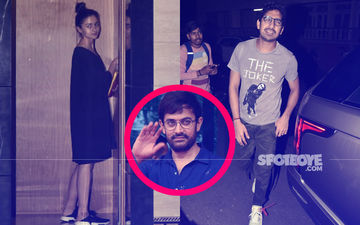 Alia Bhatt And Ayan Mukerji  Spotted At Aamir Khan's House; Is A Movie On The Cards?