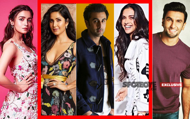 Alia And Ranveer Responsible For Ranbir's Normal Relations With His Exes, Deepika And Katrina