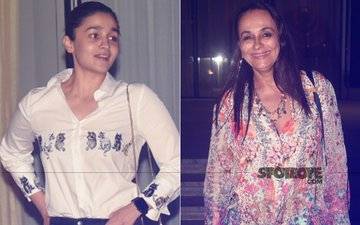 Alia Bhatt Takes Mommy Dearest Soni Razdan On A Dinner Date
