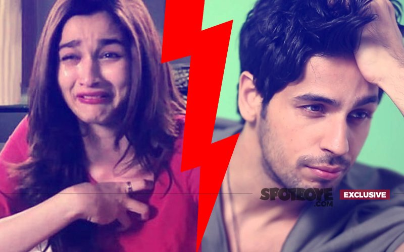 Finally, Alia Bhatt & Sidharth Malhotra END THEIR RELATIONSHIP
