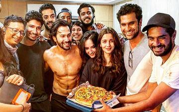 Alia Bhatt And Varun Dhawan's Pizza Party Done Right, Post Kalank Wrap