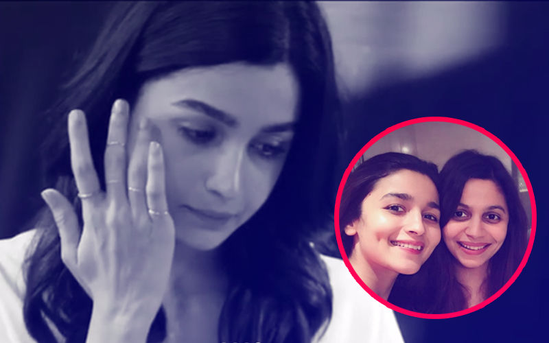 "Alia Bhatt Cries And Says, ""I Am Sorry,"" After Reading Sister Shaheen's Book On Her Suffering Of Depression"