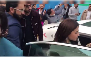 Alia Bhatt Gets Mobbed, Ranbir Kapoor And Ranveer Singh Spring To Her Rescue – Watch Video