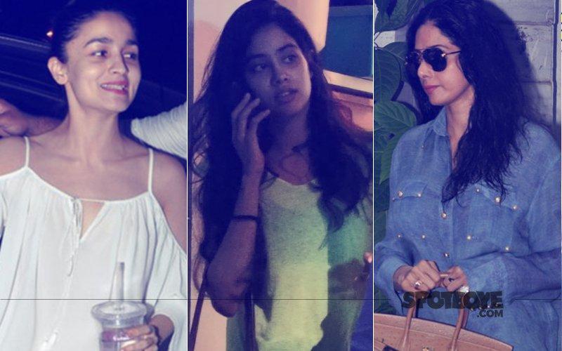 Alia Bhatt, Jhanvi Kapoor, Sridevi Look Fresh Post A Salon Session
