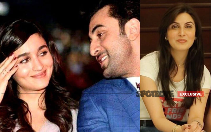 Riddhima Kapoor Joins Alia Bhatt And Ranbir Kapoor In A Gold Ring