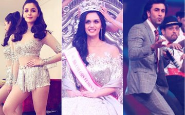 Femina Miss India 2017: Alia Bhatt, Ranbir Kapoor Put Up A Great Show As Haryana Girl Manushi Chhillar Wins the Title