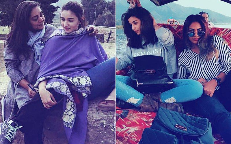 Alia Bhatt Shares A Light Moment With Director Meghna Gulzar On Sets Of Raazi