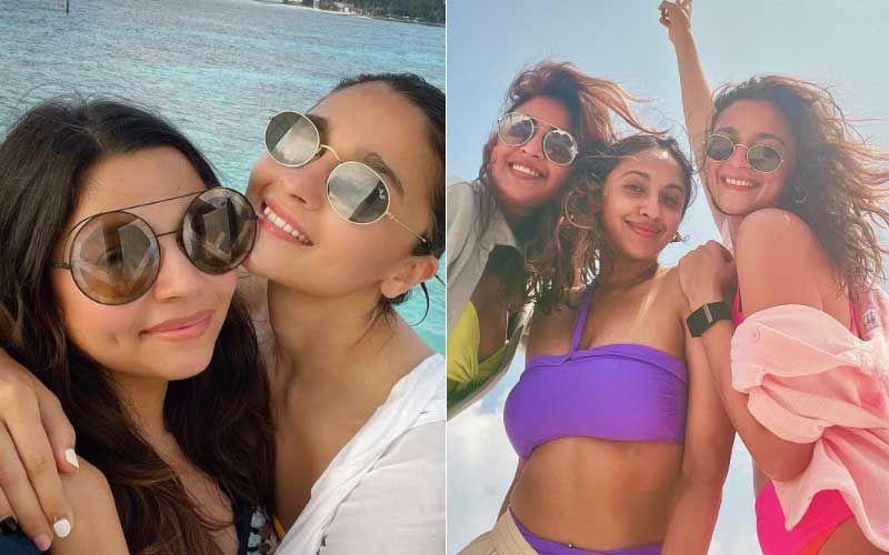 Alia Bhatt Enjoys Exotic Beach Vacay With Sis Shaheen Bhatt And BFFs Akanksha Ranjan Kapoor And Anushka Ranjan; Their Pictures Will Make You Envious