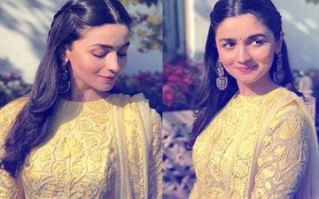 Little Miss Sunshine Alia Bhatt  Is Currently In Jodhpur And Looks Gorgeous At Best Friend Kripa Mehta's Wedding