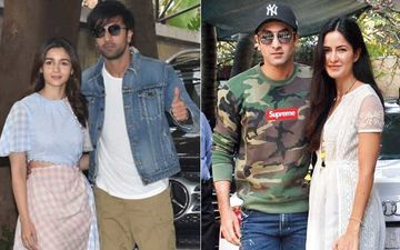 Ranbir Kapoor Makes An Appearance With GF Alia At Xmas Lunch And He Wore This Same Thing With Katrina Kaif Too