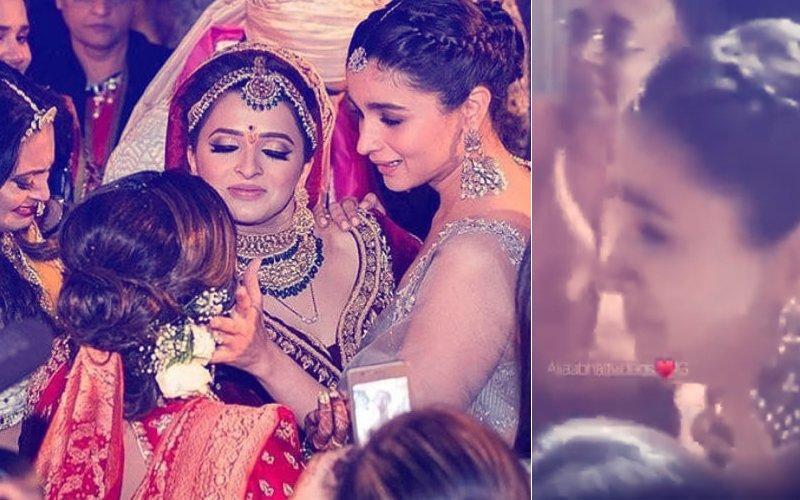 VIDEO: Alia Bhatt Gets TEARY-EYED At Best Friend Kripa Mehta's Bidaai