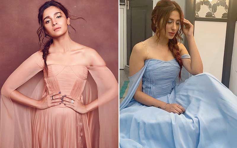Bigg Boss 13: Mahira Sharma's GANDI COPY Of Alia Bhatt's Gown Gets A Lashing From Diet Sabya; Says Lady Has GUTS