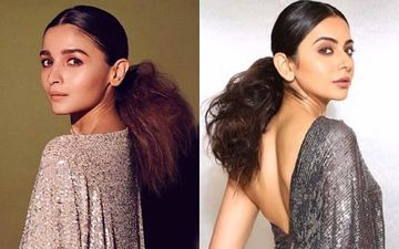 Diet Sabya Calls Out Rakul Preet For Copying Alia Bhatt's One-Shoulder Sequin Dress; Netizens DISAGREE