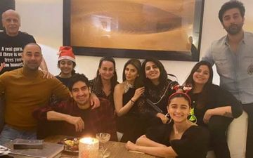 Alia Bhatt Hosts Christmas Dinner For Beau Ranbir Kapoor, Neetu Kapoor, Riddhima Kapoor And The Pics Are All Heart-INSIDE PHOTOS