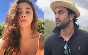 VIDEO ALERT: Alia Bhatt And Ranbir Kapoor Spotted Shooting On The Sets And Its Not For Brahmashtra