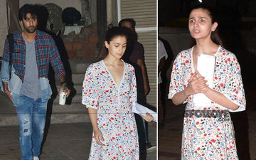 Alia Bhatt To Paparazzi Clicking Her With Ranbir Kapoor: Why Don't You Boys Go And Celebrate Diwali With Your Family?