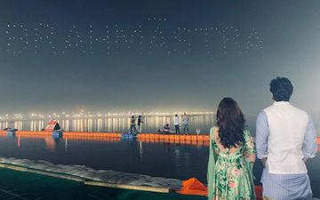 महाशिवरात्रि के मौके पर कुंभ में रणबीर कपूर और आलिया भट्ट ने रिलीज किया फिल्म ब्रह्मास्त्र का लोगो
