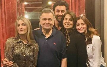 Alia Bhatt To Host Special Party For BF Ranbir Kapoor's Dad Rishi Kapoor At The Bhatt Residence?