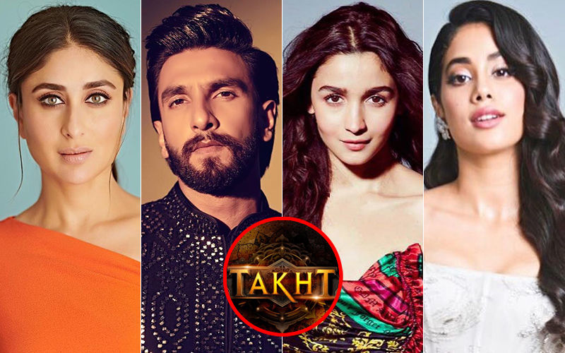 Kareena Kapoor Khan, Ranveer Singh, Alia Bhatt, Janhvi Kapoor Starrer Takht To Go On The Floors In February 2020