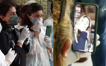 Rishi Kapoor Funeral: Netizens Troll Alia Bhatt As They Assume Her Recording Cremation; Pics Of Riddhima Kapoor Live On FaceTime Prove Otherwise