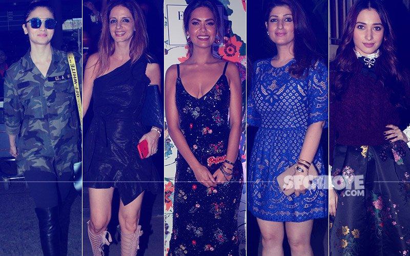 STUNNER OR BUMMER: Sussanne Khan, Twinkle Khanna, Esha Gupta, Alia Bhatt Or Tamannaah Bhatia?