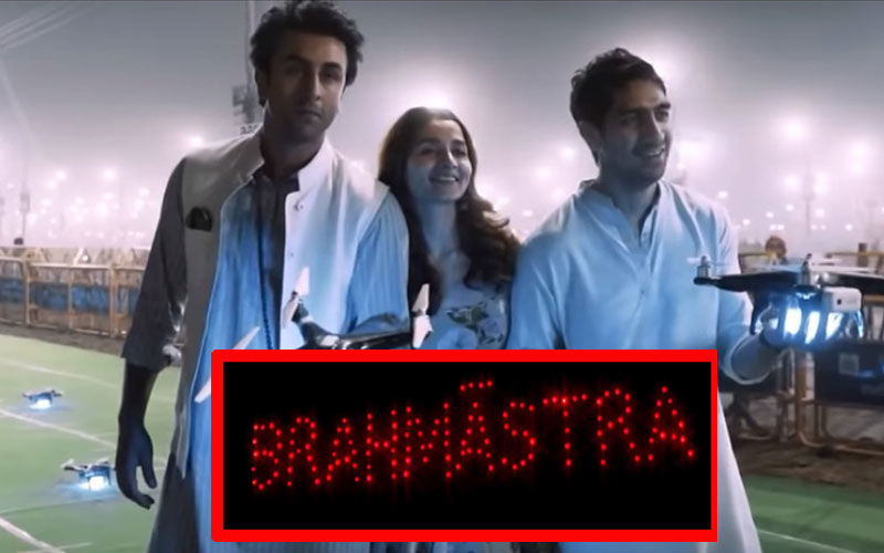Alia Bhatt-Ranbir Kapoor's Kumbh Mela BTS Video: This Is How 150 Drones Lit Up The Sky To Form Brahmastra Logo