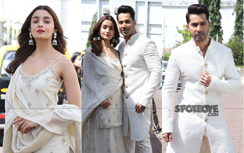 Kalank Pair Alia Bhatt-Varun Dhawan Have A Jolly Good Time On A Reality Show