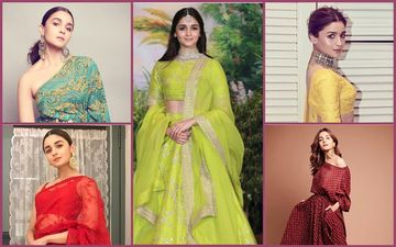 Alia Bhatt, Soon-To-Be A Sabyasachi Bride, Has Donned His Creations 5 Times Like A Pro!